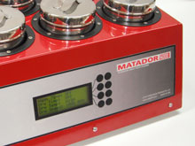 Matador ultrasonic watch and small parts cleaner - Screen Display